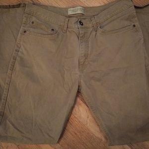 Men's Tan Wrangler Jeans